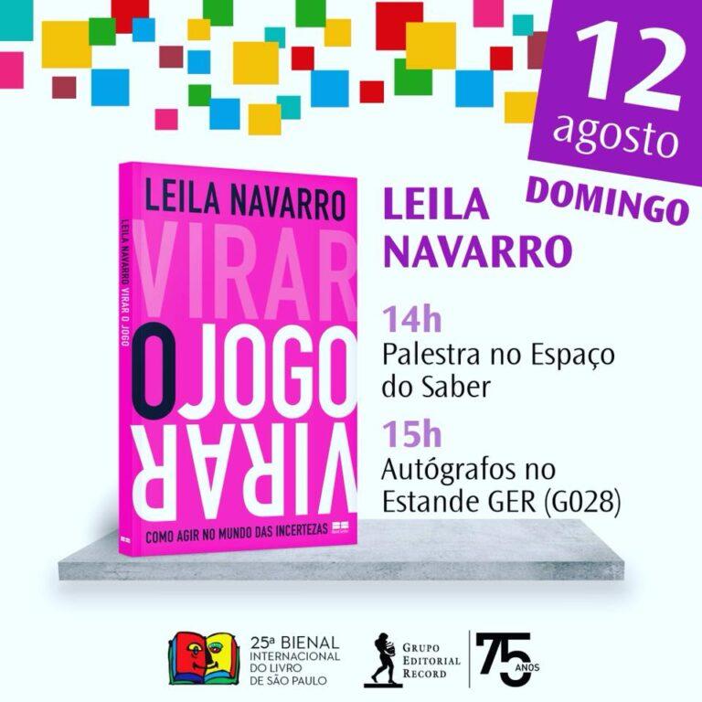 37809910 2225181764178258 5872533299494125568 n - Leila Navarro - Palestrante Motivacional