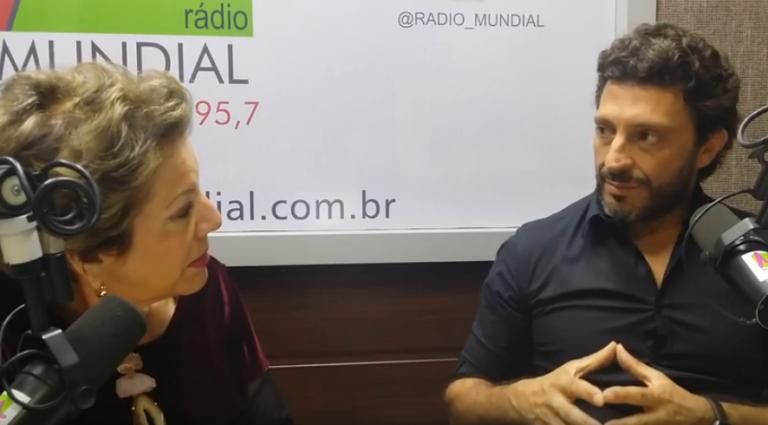 radio mundial - Leila Navarro - Palestrante Motivacional