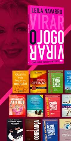 Destaque Leila Livros - Leila Navarro - Palestrante Motivacional